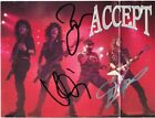 ACCEPT Collection, UDO DIRKSCHNEIDER Wolf Hoffmann Peter Baltes Autograph SIGNED