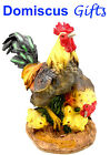 7 1 2 New Hen ROOSTER Chicks Family KITCHEN Set Home DECOR Figurine STATUE