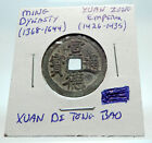 1426AD CHINESE Ming Dynasty Genuine Antique XUAN ZONG Cash Coin of CHINA i74462
