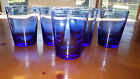 Mediterranean Blue Tumblers Glasses short tumblers 5 16 ounce flat bottom