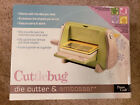 Provo Craft Cuttlebug Die Cutter  Embosser w 4 Embossing Folders New