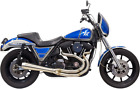 Bassani 1FXR2SS Road Rage 3 Step 2 Into 1 Exhaust System Raw Tapered