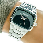 Nixon VIP Pass The Small Player Womans Watch Black Dial Stainless Working 8025