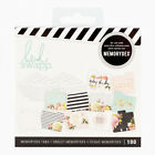 Heidi Swapp EVERYDAY MEMORYDEX CARDS 12 TABBED CARDS 88 LINED CARDS