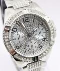 GUESS LADY FRONTIER Damenuhr W1156L1 silber