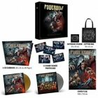 Signed Powerwolf The Sacrament Of Sin Deluxe Boxset 3-CD, Vinyl COA flag bag sti
