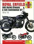 ROYAL ENFIELD SHOP MANUAL SERVICE REPAIR HAYNES BOOK 500 535 BULLET CLASSIC