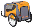 Bike Pet Trailer Wagon Aluminum Safety Washable Pull Behind Removable Travel Fun