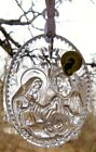 Waterford Crystal 2018 Annual Nativity Ornament NEW In Box