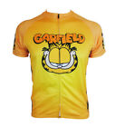 Garfield Cycling Jersey Retro Road Pro Clothing MTB Short Sleeve