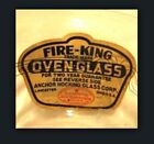 2 Fire King Sapphire Blue Philbe Cups Factory Sticker NOS
