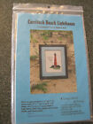 Currituck Beach Lighthouse Counted Cross Stitch Kit NC Historic needle arts NEW