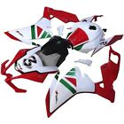 Fits APRILIA RS4 125 & RS4 50 2012 ABS Plastic Fairing Bodywork Set Red+White
