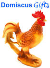 6 New Bamboo Rattan Hen ROOSTER Chicken Collectible Animal KITCHEN Figurine