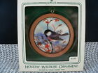 HALLMARK ORNAMENT 1983 HOLIDAY WILDLIFE 2nd. EDITION---BLACK CAPPED CHICKADEES