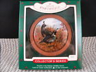 HALLMARK ORNAMENT 1985 HOLIDAY WILDLIFE 4th. EDITION--CALIFORNIA PARTRIDGE, iob