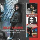 Billy Squier - Enough Is Enough/Hear & Now/Creatures Of Habit (2012)  2CD  NEW