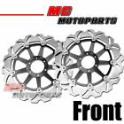 Front Brake Disc Rotor 1 Pair Set For Yamaha YZF 750R XJR1200 FZR1000 FZR750R