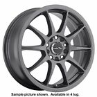 4 New 17 Wheels Rims for Volkswagen Cabrio Golf Jetta Passat 5904