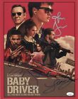 BABY DRIVER Cast x5 Authentic Hand-Signed