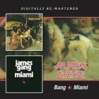 JAMES GANG - BANG/MIAMI  CD NEW+