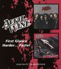 APRIL WINE - FIRST GLANCE/HARDER...FASTER  CD NEW+