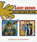 SAVOY BROWN - LION'S SHARE/JACK THE TOAD 2 CD NEW+
