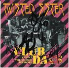 TWISTED SISTER Club Daze FULLY SIGNED Dee Snider A.J. Pero Mendoza Jay AUTOGRAPH