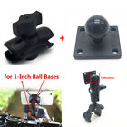 1 Inch Standard Ball Pump Mount Base+Double Socket Arm for Phone