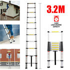 Collapsible Telescopic Ladder Loft Roof Step Ladders Extension Foldable Aluminum