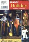 Simplicity 7031 Sewing Pattern Mens Nativity Costumes Large Extra Large New