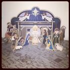 Melissa  Doug Classic Wooden Christmas Nativity Set With 4 Piece S BRAND NEW