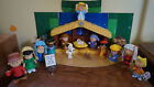 Fisher Price LITTLE PEOPLE Nativity Set PEANUTS Charlie Brown Christmas Figures