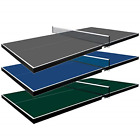 Martin Kilpatrick Table Tennis Conversion Top Pool Table Ping Pong Top  Blue