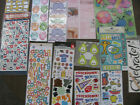 SCRAPBOOK STICKERS Mixed Lot of 16 Packages Sheets NEW