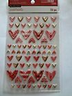 RECOLLECTIONS JOLEES VALENTINES DAY Hearts Repeats 3D Scrapbook Stickers