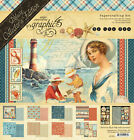 Graphic45 BY THE SEA DELUXE COLLECTORS EDITION scrapbooking VINTAGE SEASIDE