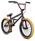 Mongoose Legion L100 Boy's Freestyle BMX Bike, 20-Inch Wheels, Burgundy