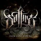 SAFFIRE - FROM ASHES TO FIRE  CD 13 TRACKS HEAVY METAL HARD ROCK NEW+
