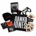 Danko Jones Fire Music signed box set w/coa patches coaster wrist band in stock
