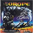 EUROPE Prisoners in Paradise FULLY SIGNED Joey Tempest Final Countdown AUTOGRAPH