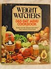 Cook Book Weight Watchers 365 Day Menu Full Choice Food Plan 1981 Hardback