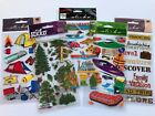 Minnesota Travel Scrapbooking Stickers Lot Sticko Camping Rafting Outdoors