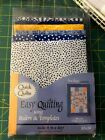 Easy Quilting Quick Kit Indigo Breeze 46 x 60 finished size