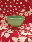 Vintage Fire King Jadeite Swirl Bowl