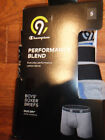 NIP CHAMPION 3 PACK BOYS BOXER BRIEFS SZ SMALL PERFORMANCE BLEND DUO DRY WI