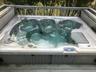 Large Used Master Spas Jet Away Hot Tub Model 1050 LSX MS5000