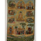 Tibet Collectable Silk Hand Painted Buddhism Portrait   Thangka z3019