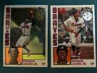 2019 Topps Chrome SILVER PACK  1984 Topps Base Ronald Acuna Jr Braves 2 Cards