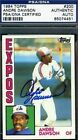 Andre Dawson Cards, Rookie Card and Autographed Memorabilia Guide 41